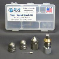 Aqua Mole Nozzle Kit