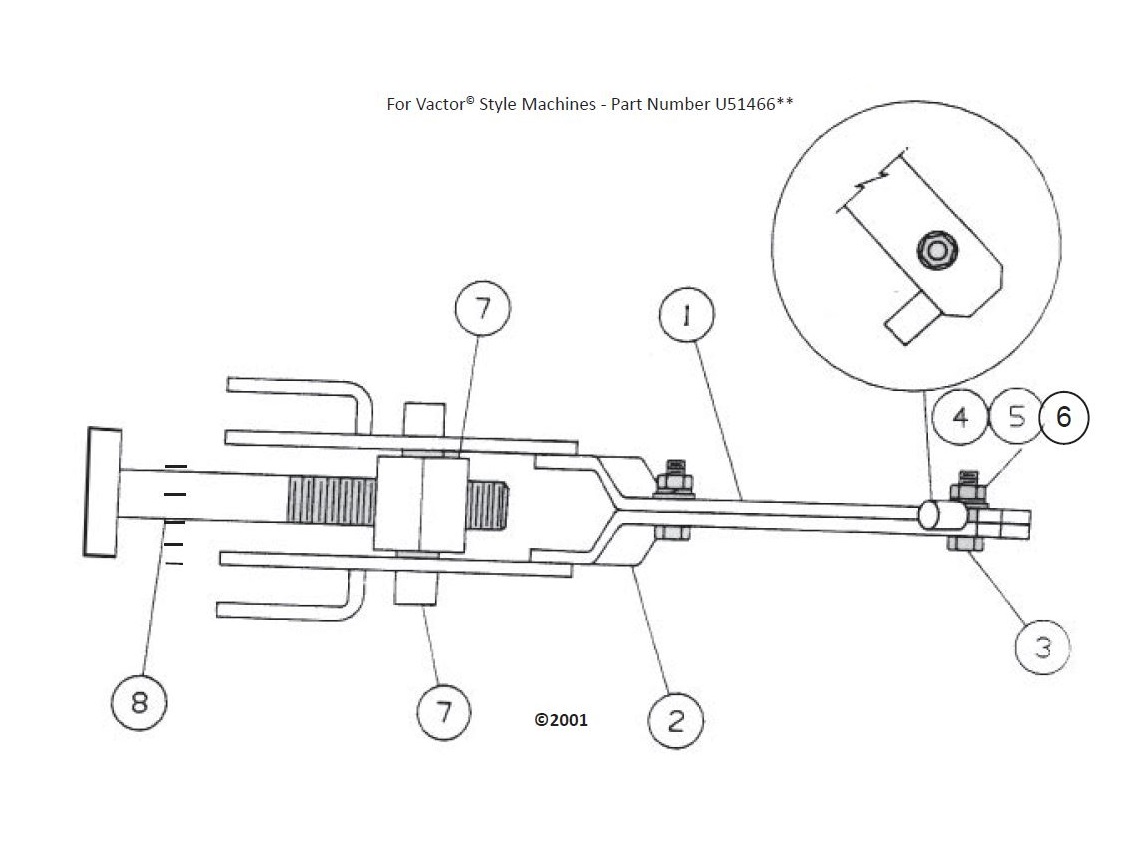 Lower Door Lock Assembly