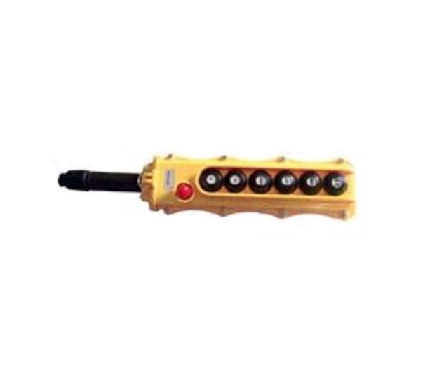 7 button long yellow pendant control box 7 button long yellow pendant control box aloadofball Gallery