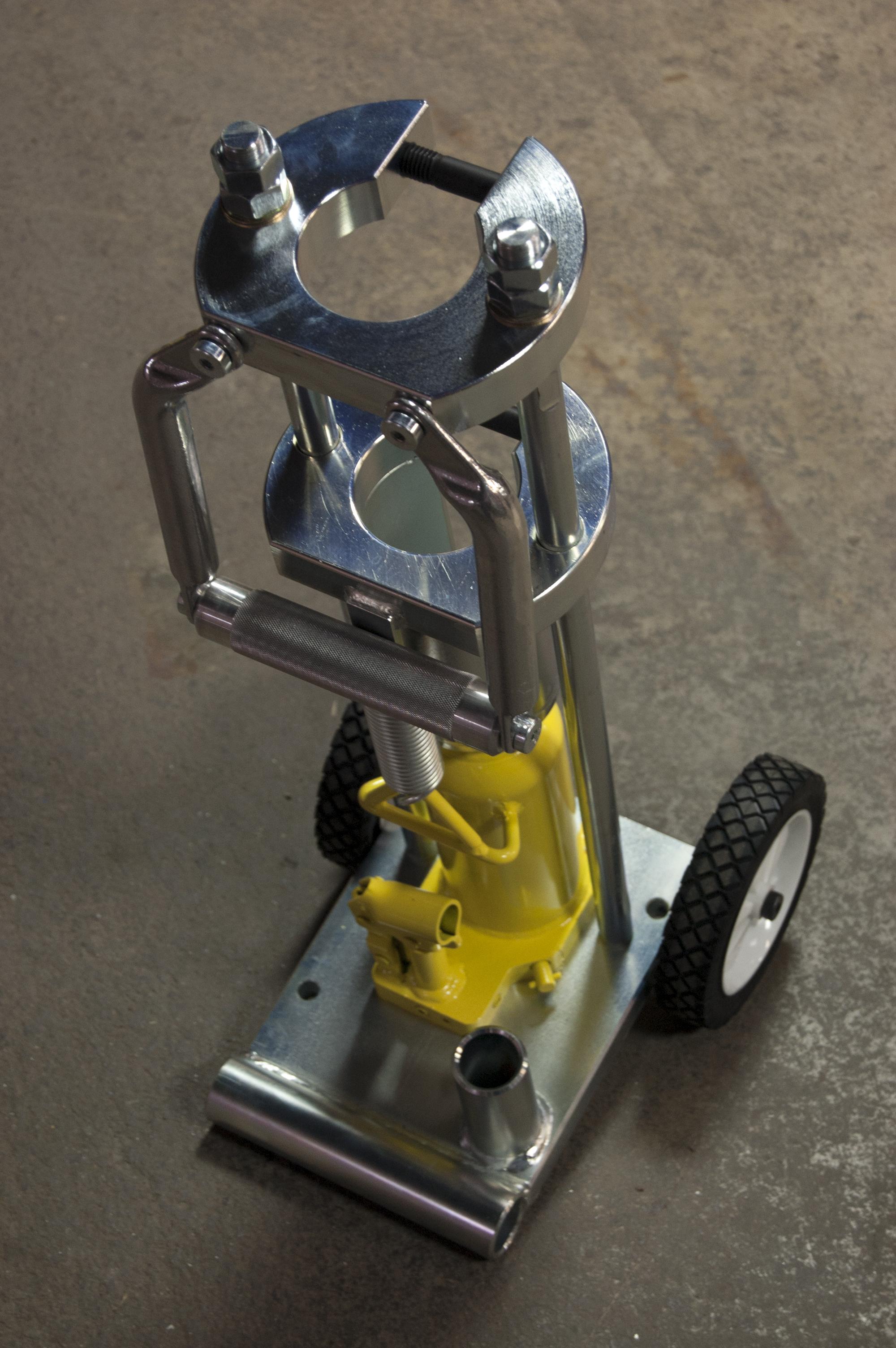 Piranha 174 Hose Products Php110 Swage Machine