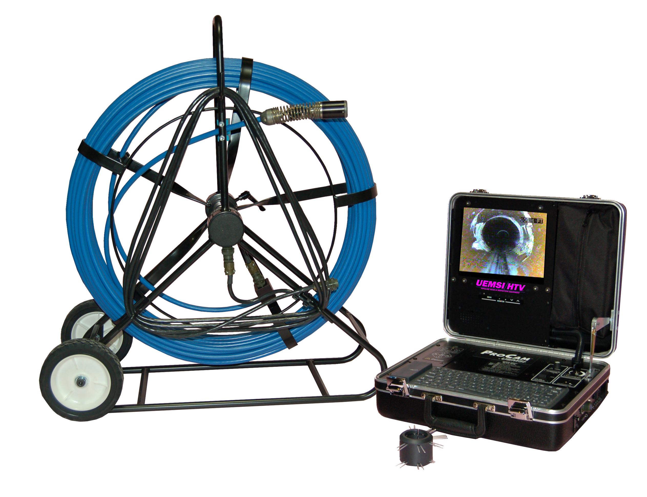 Procam 174 Dvr Color Mini Camera Inspection System With Dvr
