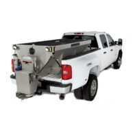 Fisher plow Steel Caster stainless steel hopper spreader