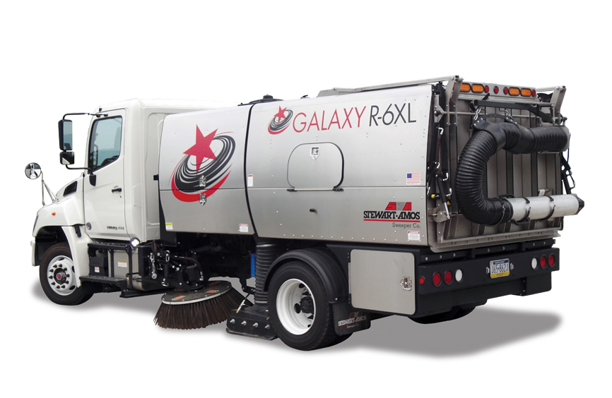 Galaxy R6xl Street Sweeper Texas Municipal Equipment