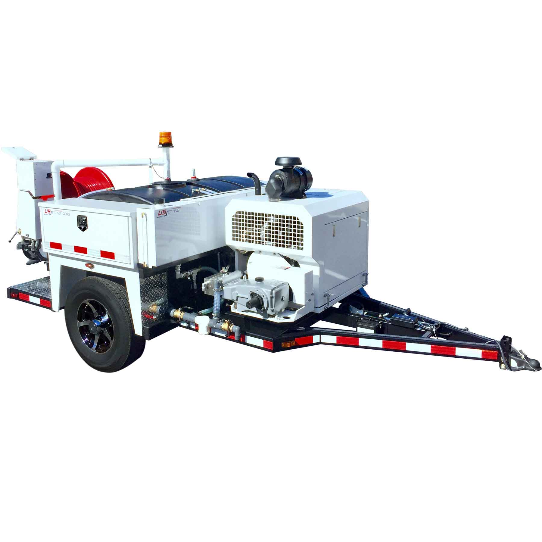 Us Jetting 4018 600 Ttrailer Mount Jetter Rental
