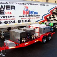 XtremeFlow III – Dual Engine Cold Water Jetter