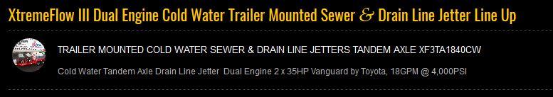 Dual Engine - XtremeFlow III Line Up