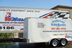 Enclosed Sewer Drain Line Jetter 1