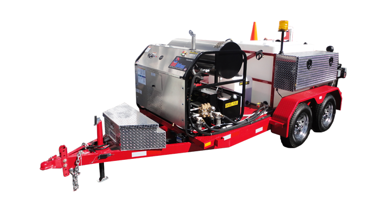 HotJet II® Trailer Mounted Jetter
