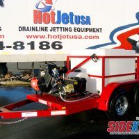 Trailer Jetter Cold Water – Economy Sidekick Series